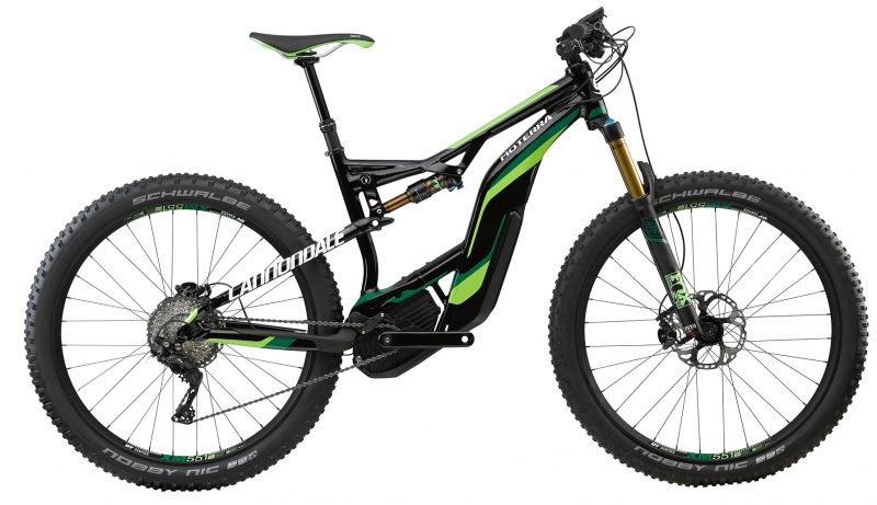 cannondale moterra 1 27.5 plus 2018