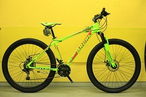 "MTB 27.5"" freni a DISCO forcella ammortizz."