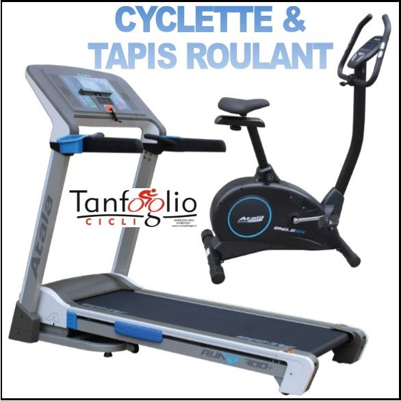 FITNESS: Cyclette, Tapis Roulant, Rulli, Cardiofrequenz.