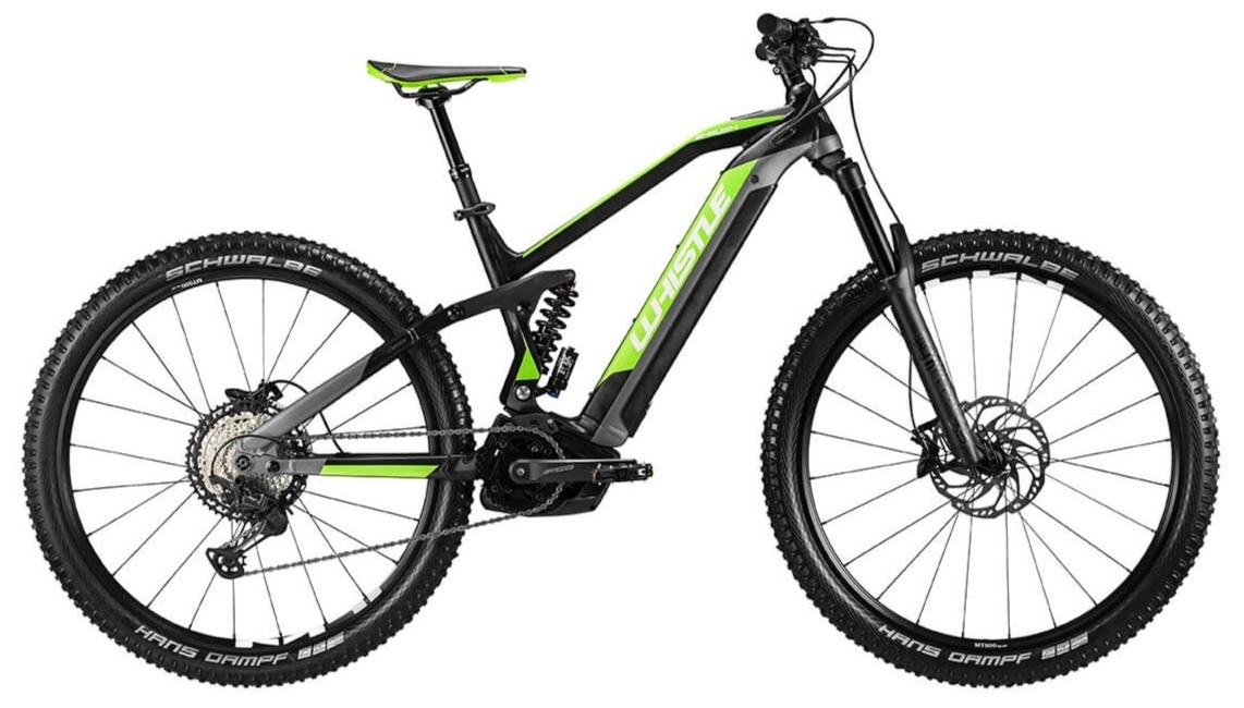 WHISTLE E-BIKE B-Rush All Mountain SLS